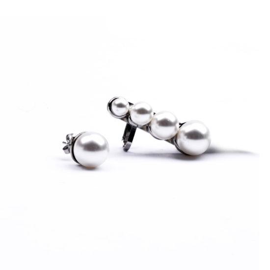 biogitteria anello orecchino perle